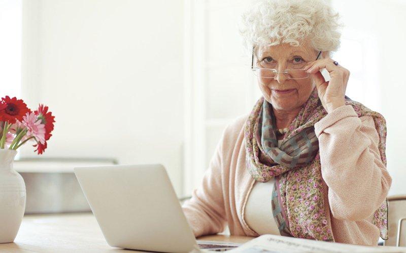 Онлайн в возрасте