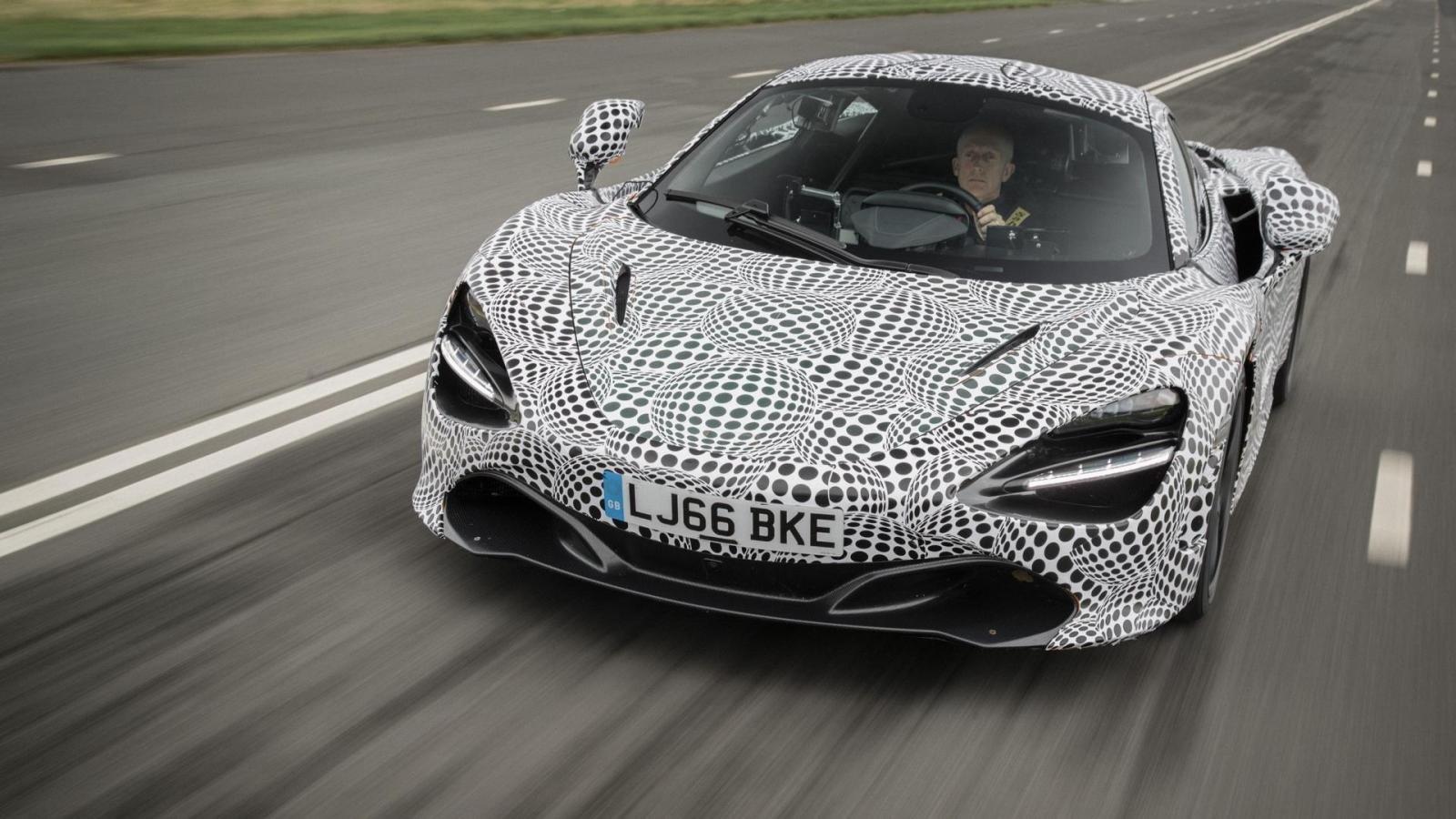 «Хвост скорости»: Мак Ларен продемонстрировал один избыстрейших гиперкаров мира. Все уже проданы