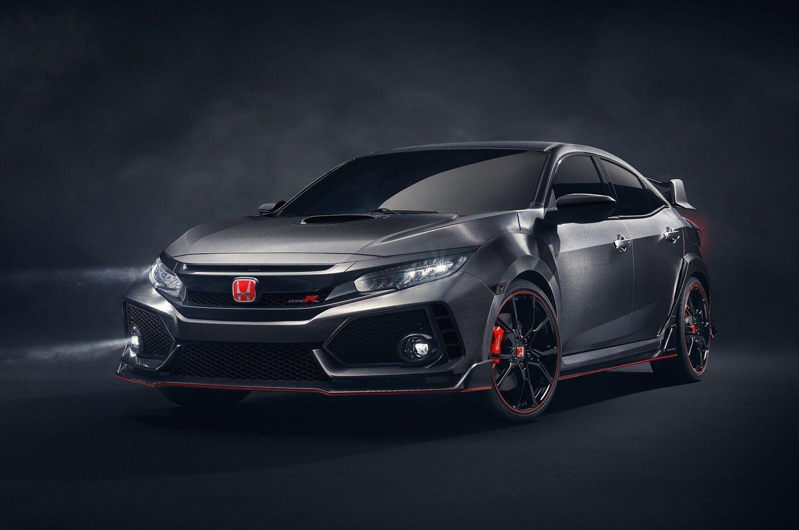Хонда  Civic Type Rполучил 2-ое  дыхание: обновление 2019 модельного года