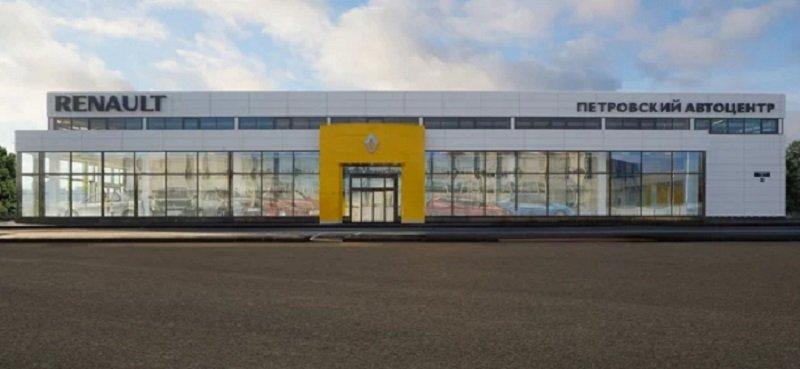 2cb14057c490 В Санкт-Петербурге открыли новый дилер-центр Renault