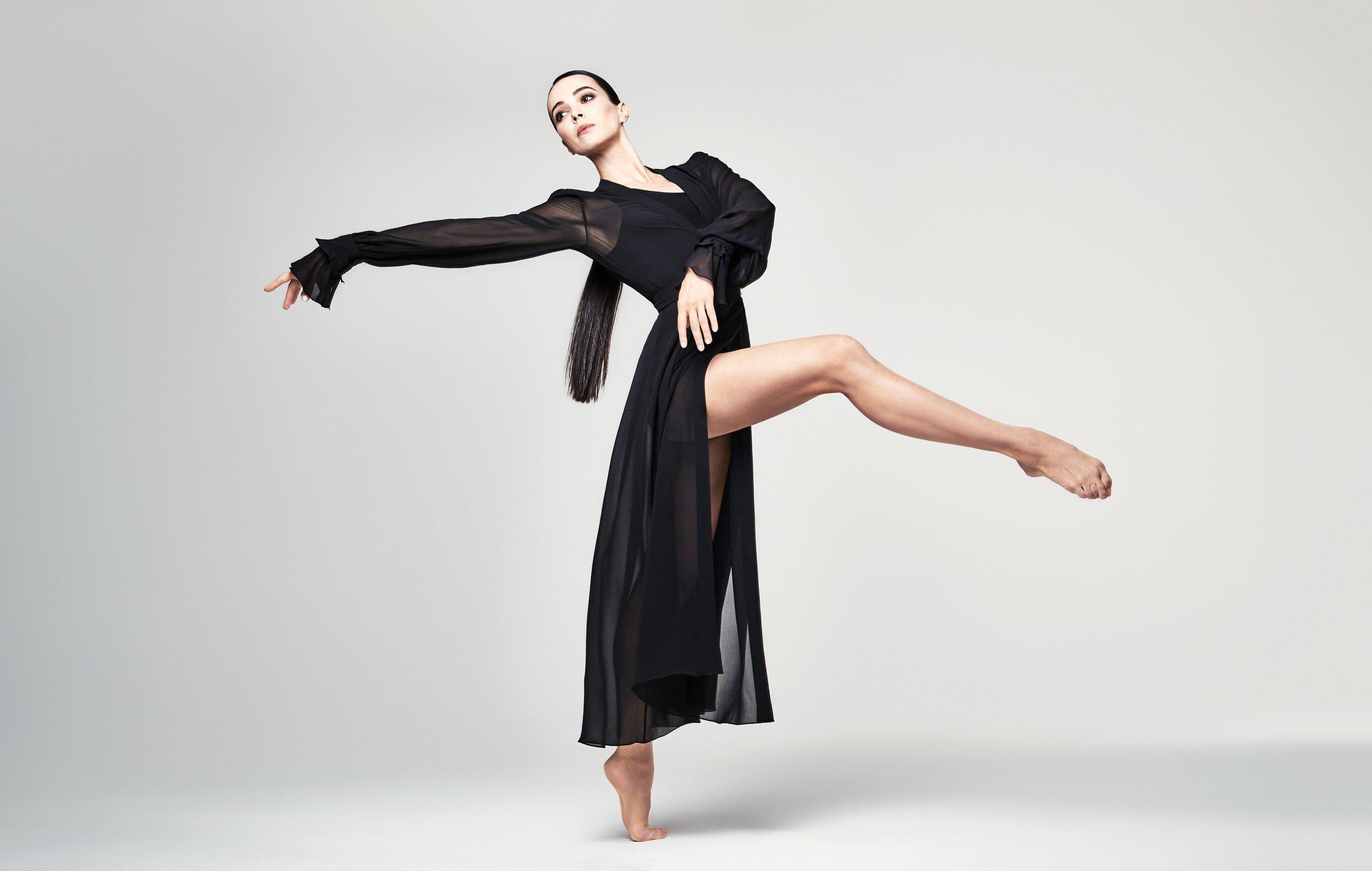 Прима-балерина Мариинки Диана Вишнева провела мастер-класс вПетербурге