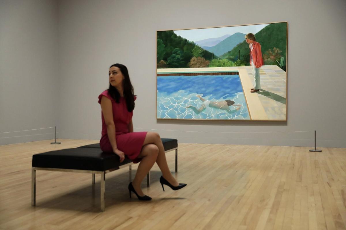 Картину Хокни «Портрет художника» приобрели вСША за90,3 млн. долларов