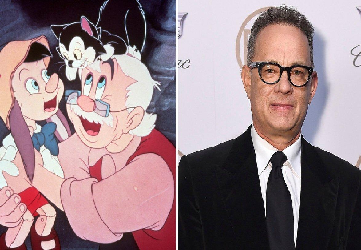 Диснеевский конвейер привлекает Тома Хэнкса нароль отца Пиноккио