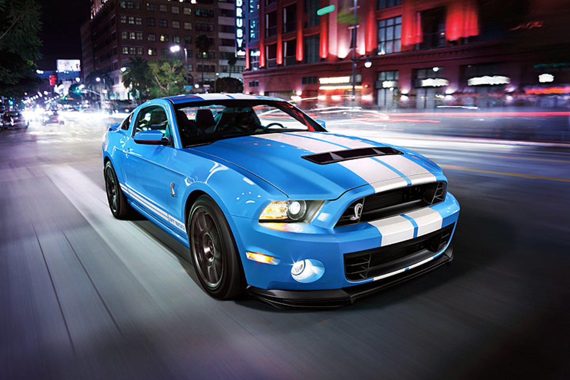 Компания Форд объявила дату презентации Mustang Shelby GT500