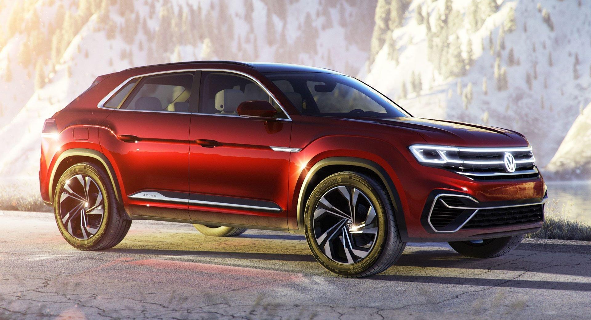 На фото представили конкурента BMW X6 от Volkswagen