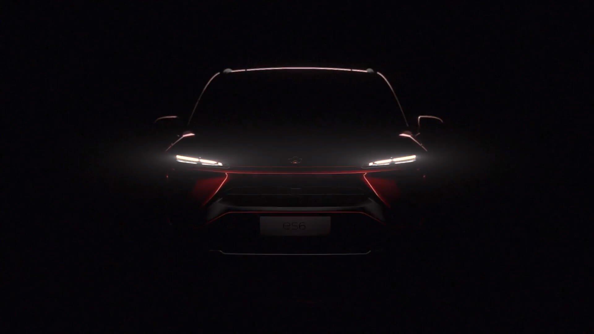 Китайская Nio представила электрический вседорожный автомобиль  на536 л.с