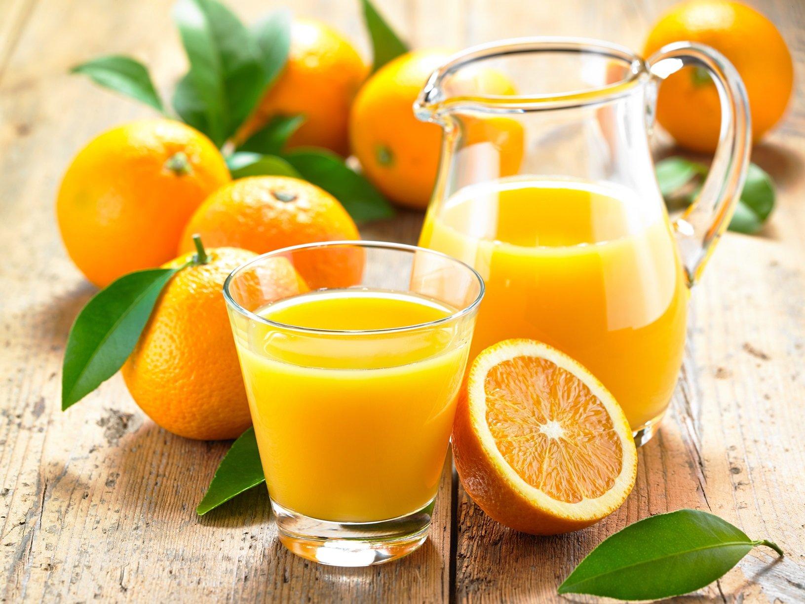 Апельсиновый фреш при диете