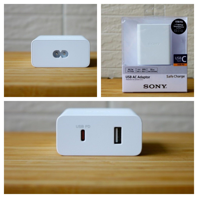 Сони выпустила зарядное устройство USB-PD сбыстрой зарядкой 46,5 Вт