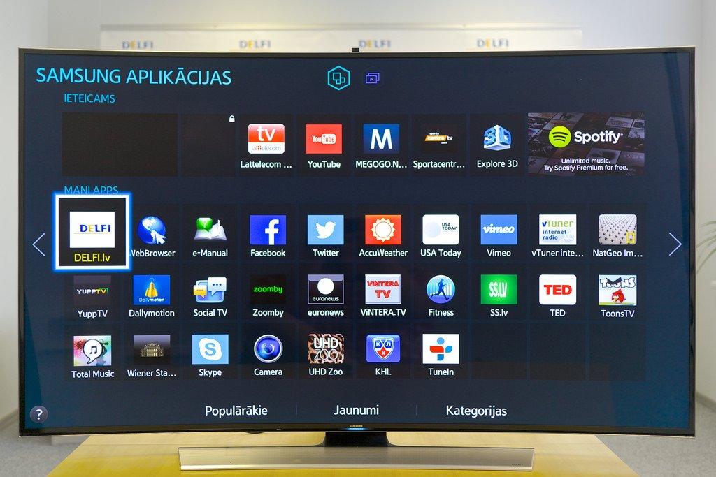 Телевизоры Самсунг Electronics будут поддерживать сервисы отApple