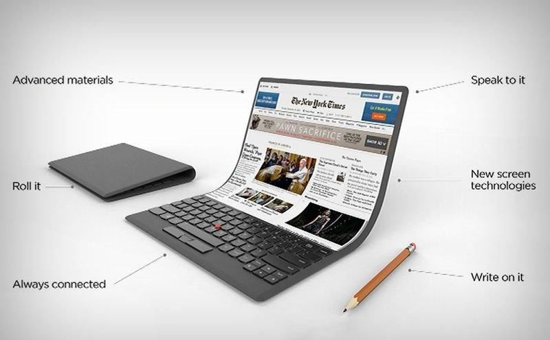 Lenovo готовит гибкий ноутбук на Windows 10 - Mail Hi-Tech