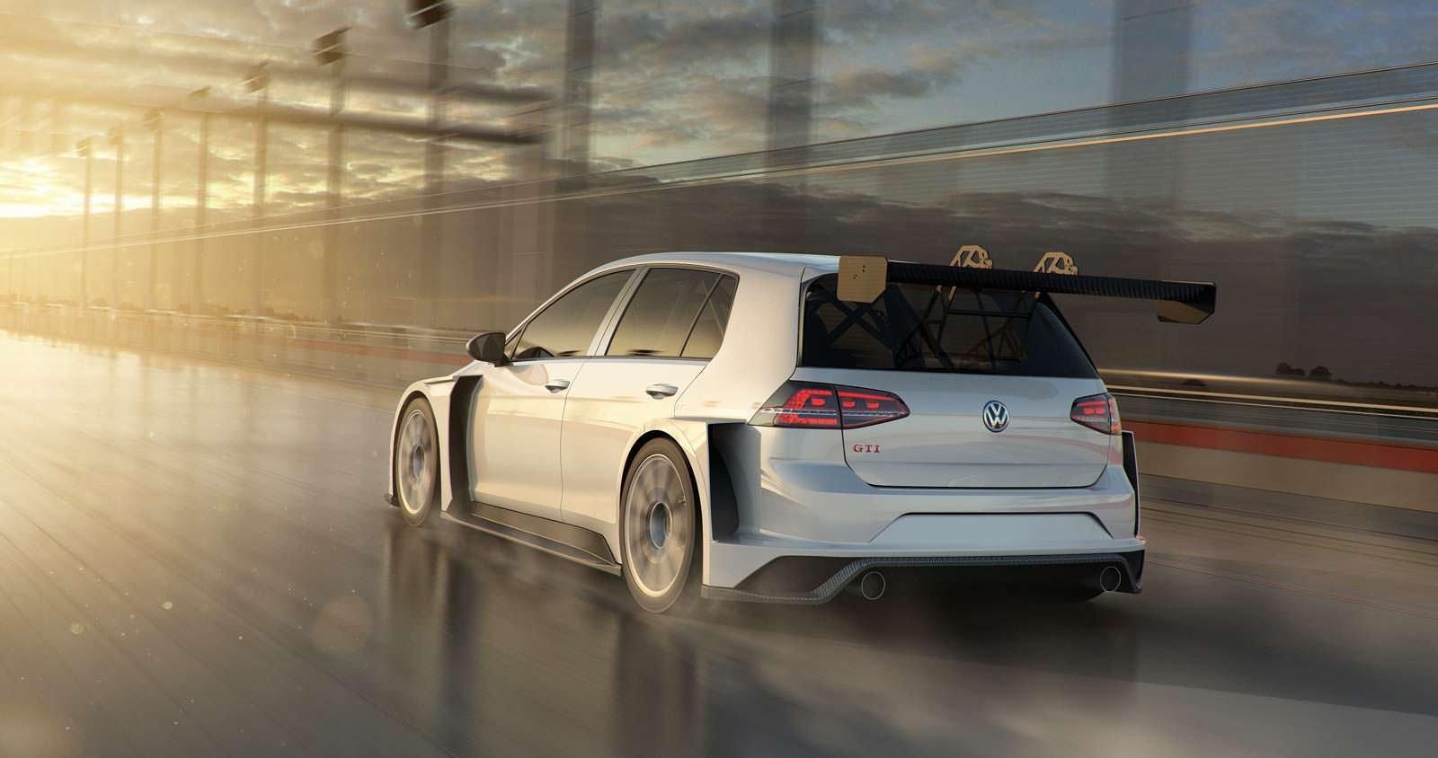 Такого мощного VW Golf GTI еще небыло!