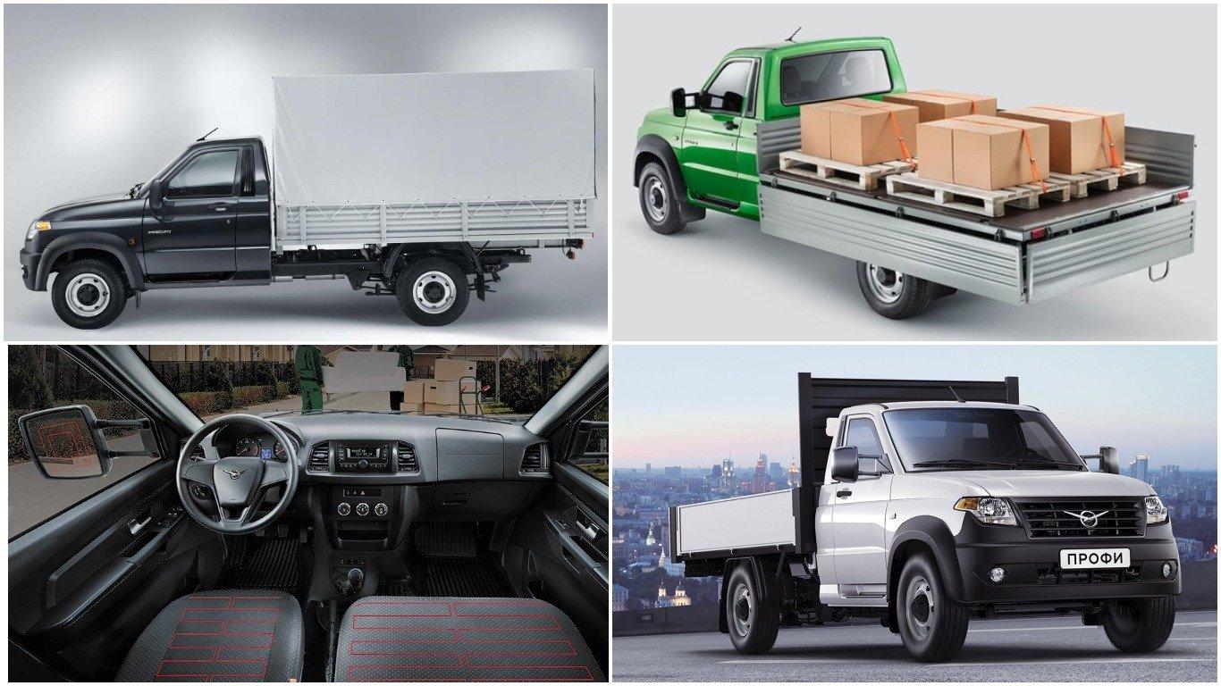 УАЗ представил новейшую версию фургона «Профи»