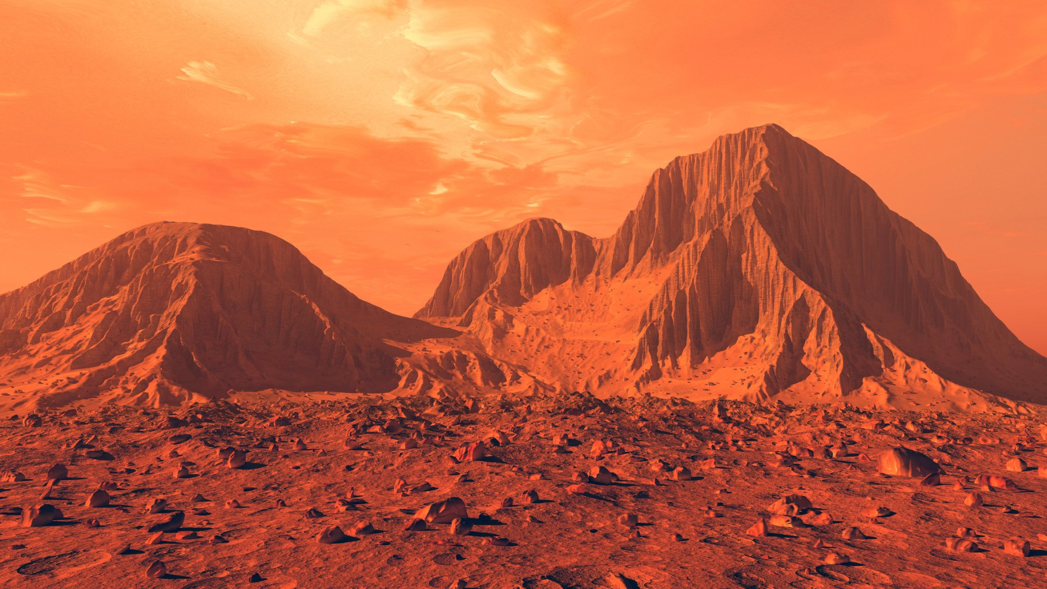 mars landscape images - HD2048×1152