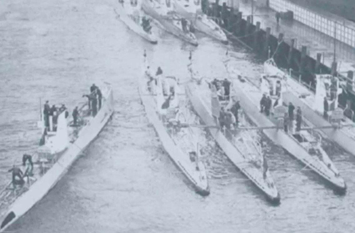 «Потерянный флот Гитлера» отыскали  исняли навидео