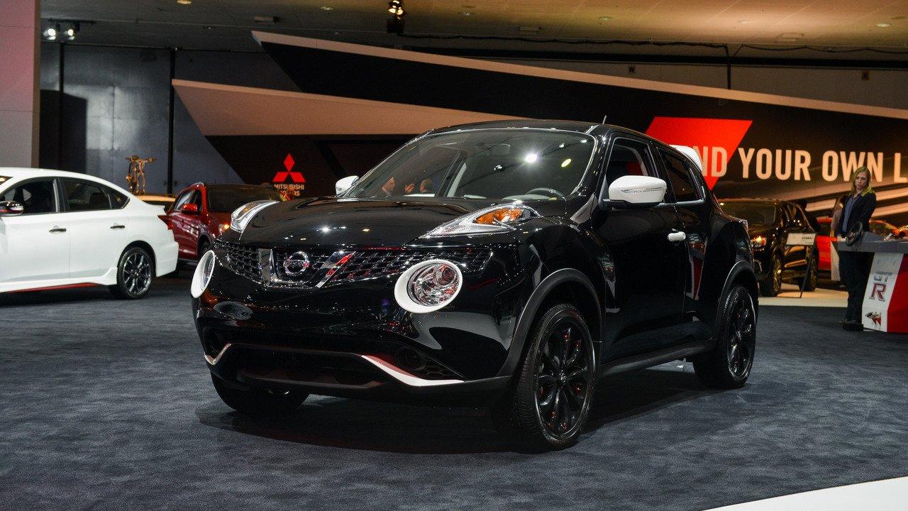 Новый Nissan Juke дебютирует в марте в Женеве