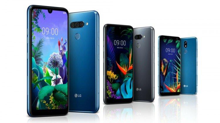 LGпредставила обыкновенные мобильные телефоны K50 иK40