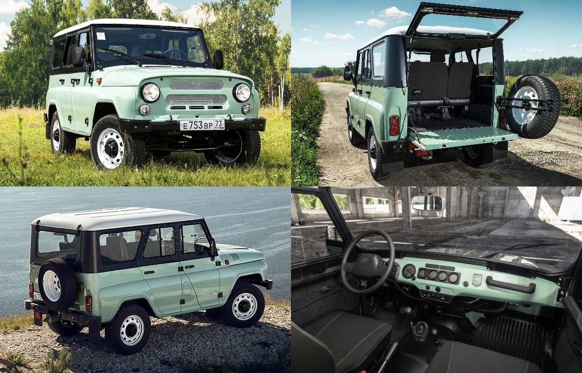 УАЗ «Хантер» стал грузовым автомобилем