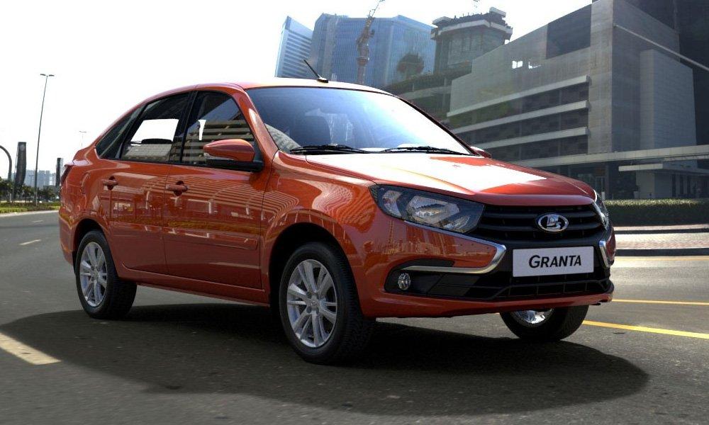 Лада  Granta вновь стала наиболее популярным  автомобилем вРФ