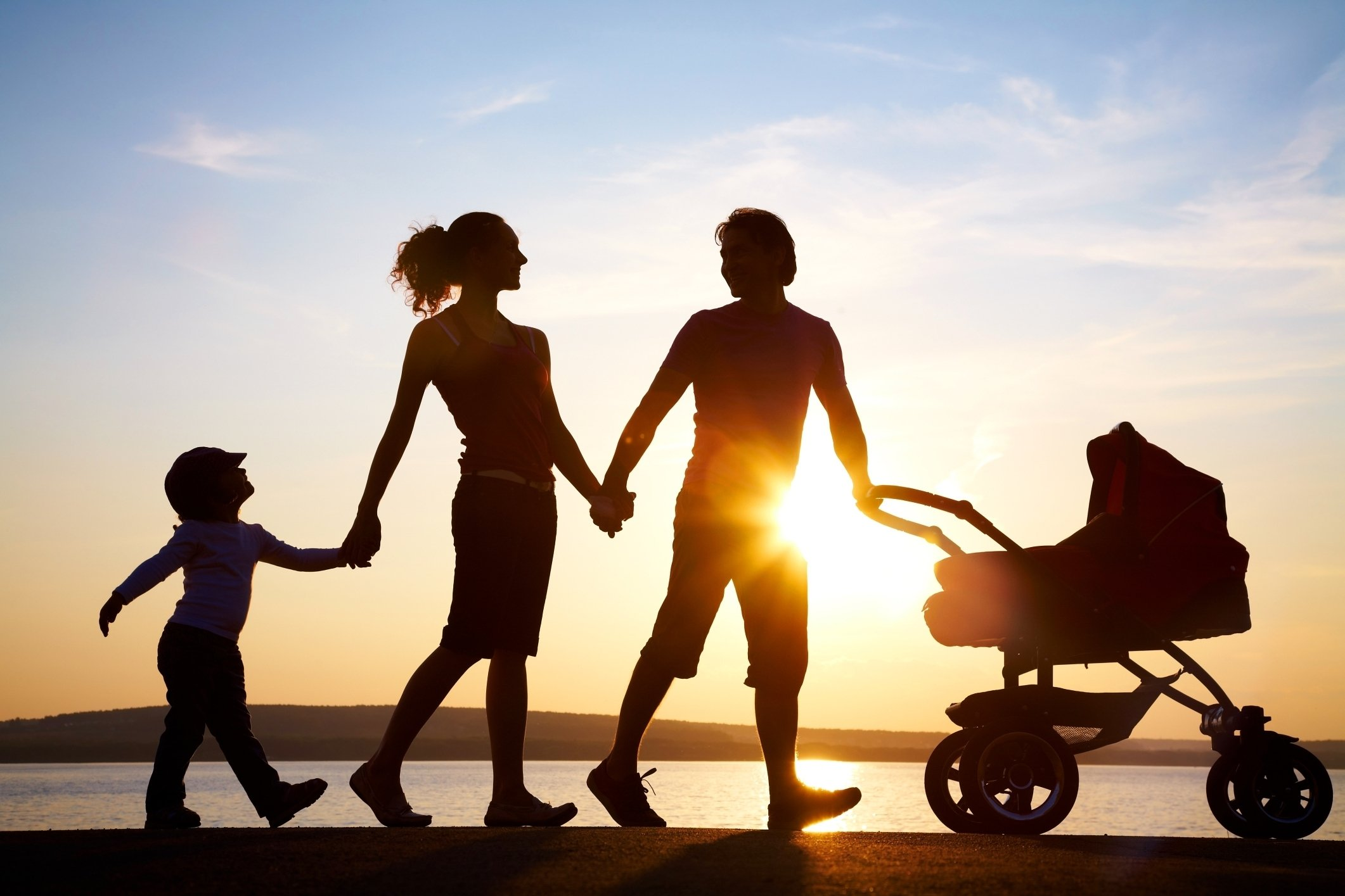 красивые фото семьи с детьми со спины этого, узнаете, как