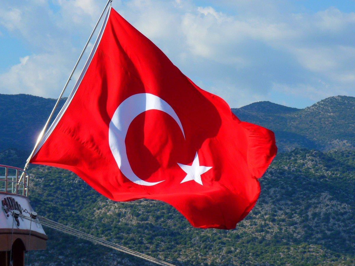 Картинки турецкий флаг, внуку