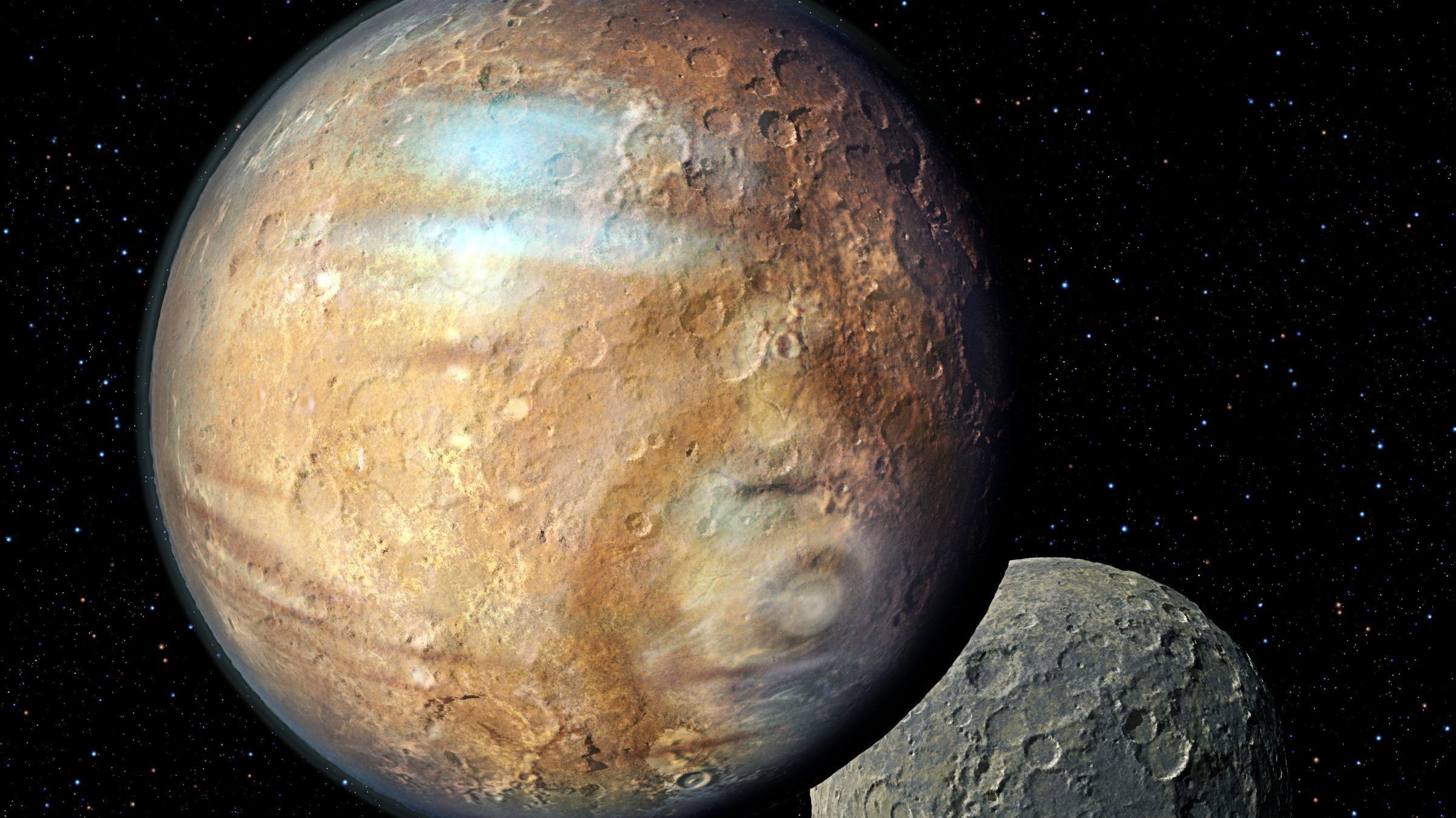 New Horizons отыскал аммиак наповерхности Плутона