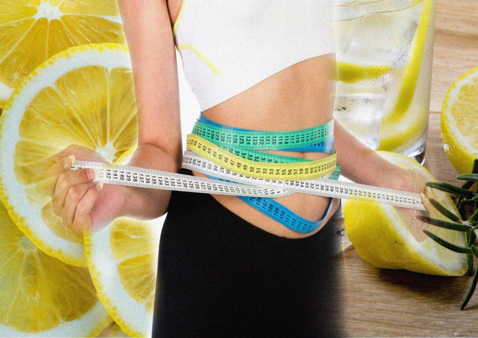 Как похудеть на лимоне и воде