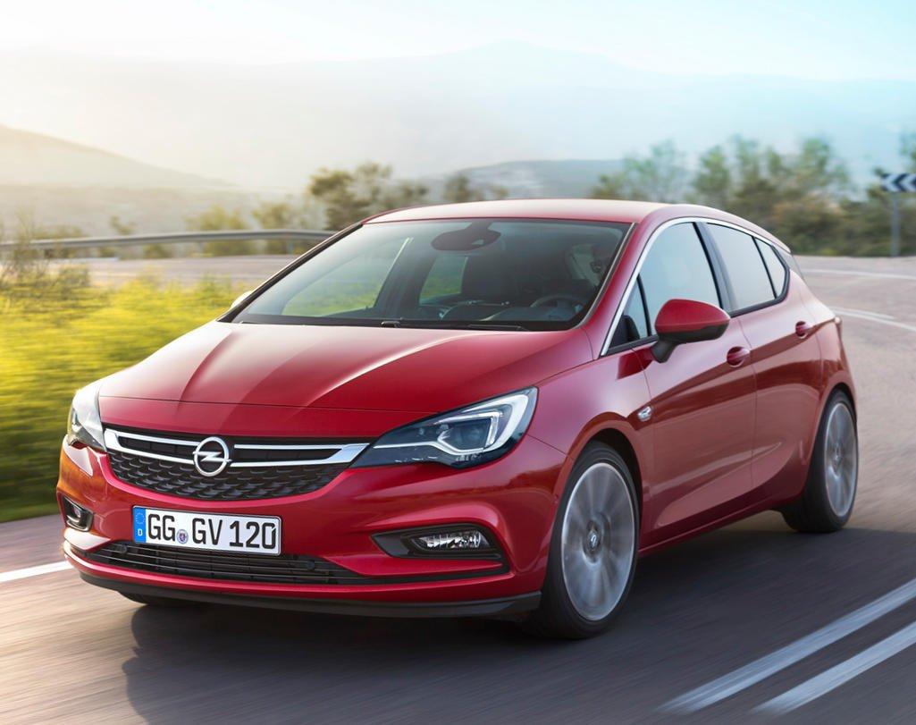 Представлена обновленная Opel Astra