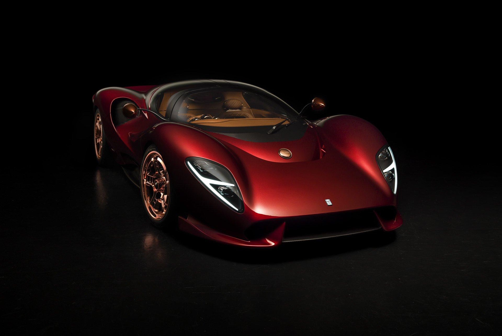НаФестивале скорости дебютировал суперкар возрожденной марки DeTomaso