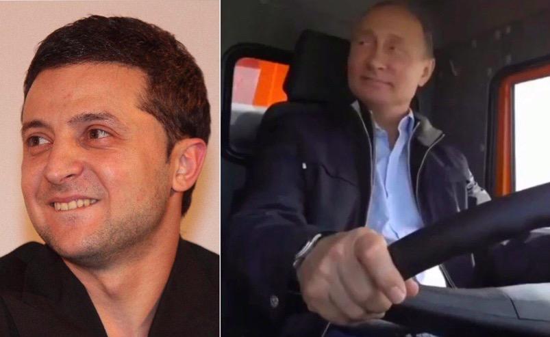 Зеленского уличили вжелании копировать В. Путина