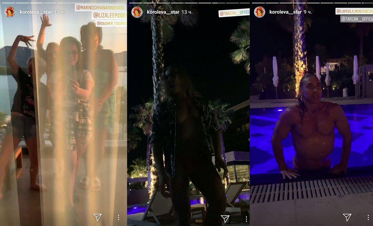 «Сладкая парочка»: Тарзан продемонстрировал провокационное фото сНаташей Королевой