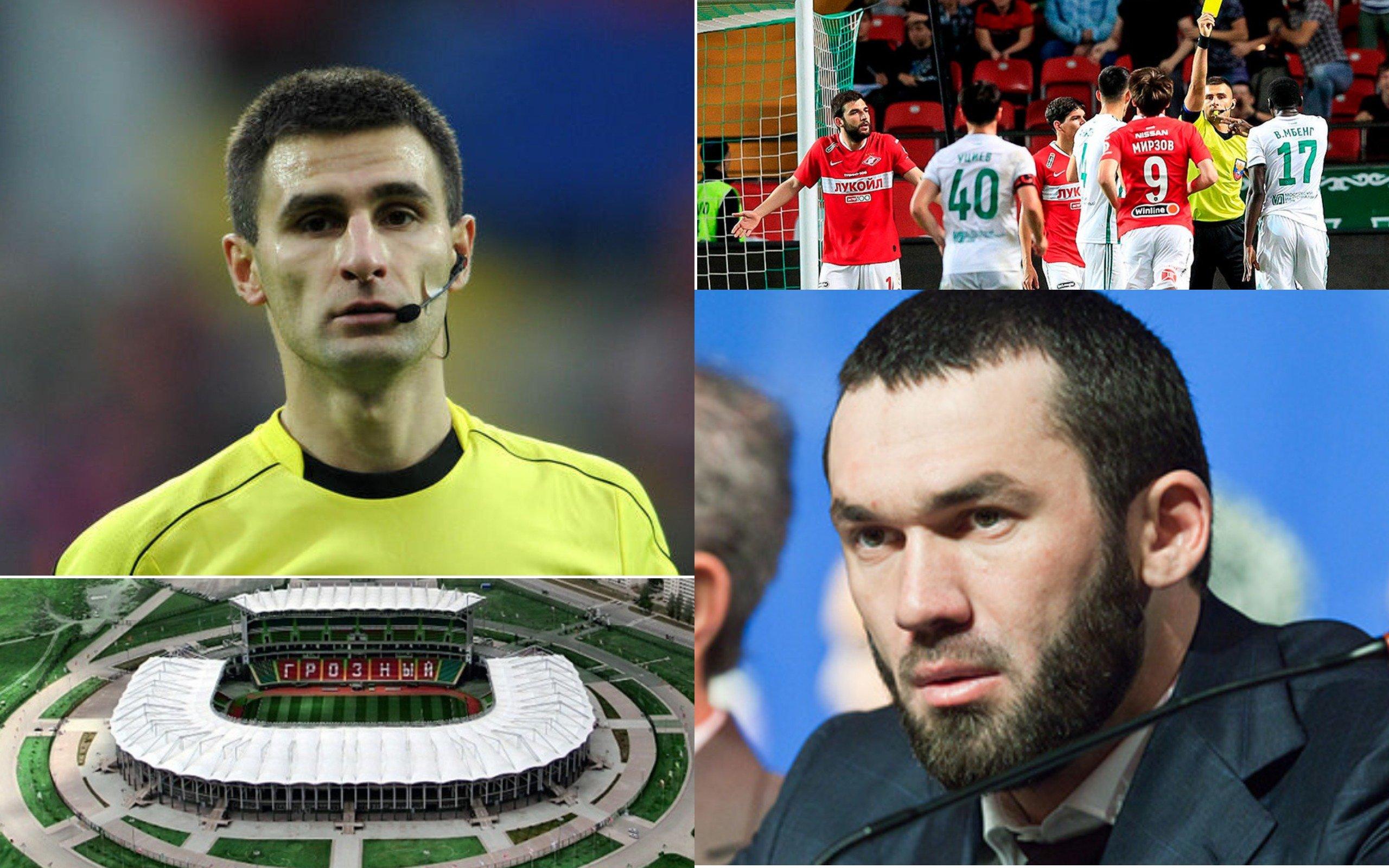 Главу парламента Чечни Магомеда Даудова заподозрили в «физическом воздействии» на футбольного судью — после матча, в котором арбитра публично оскорбили