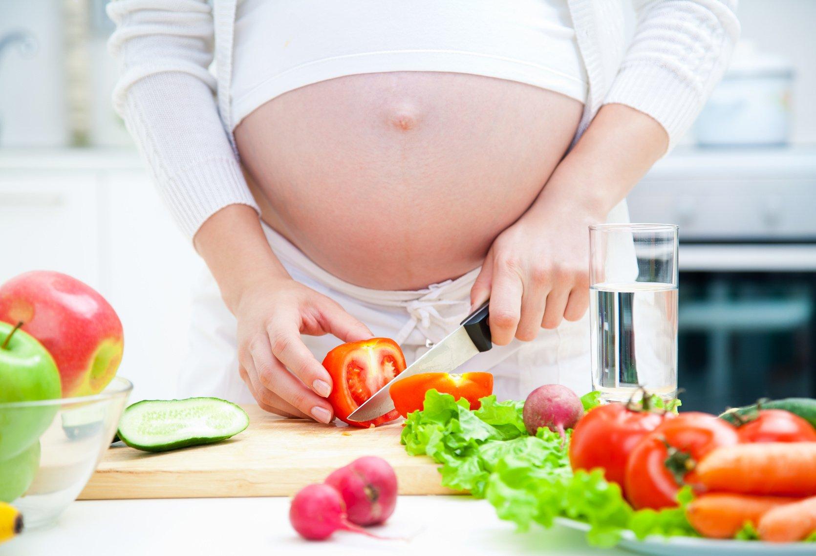Беременные и диета