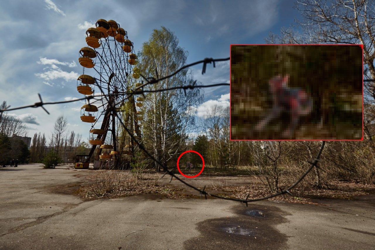 Фото странных явлений в чернобыле
