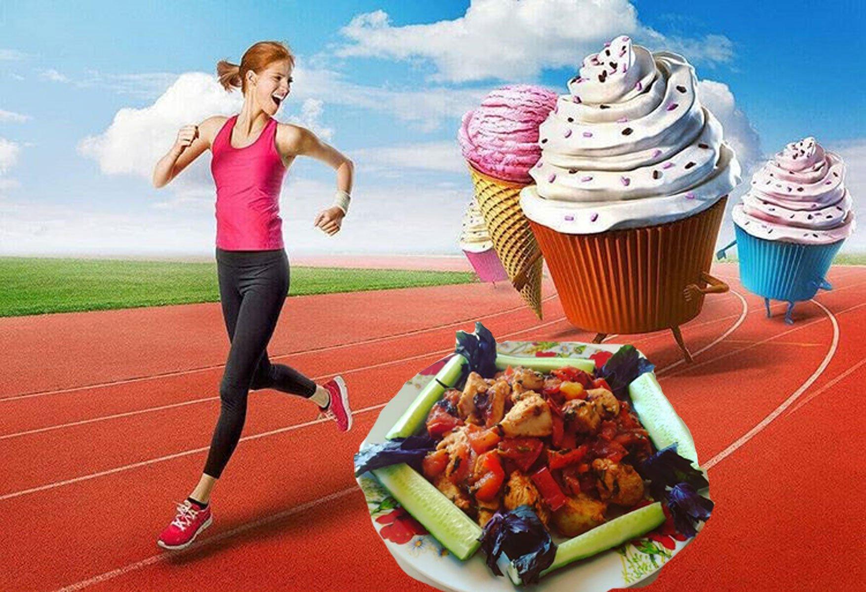 Смешные картинки про спорт и диету, деревья