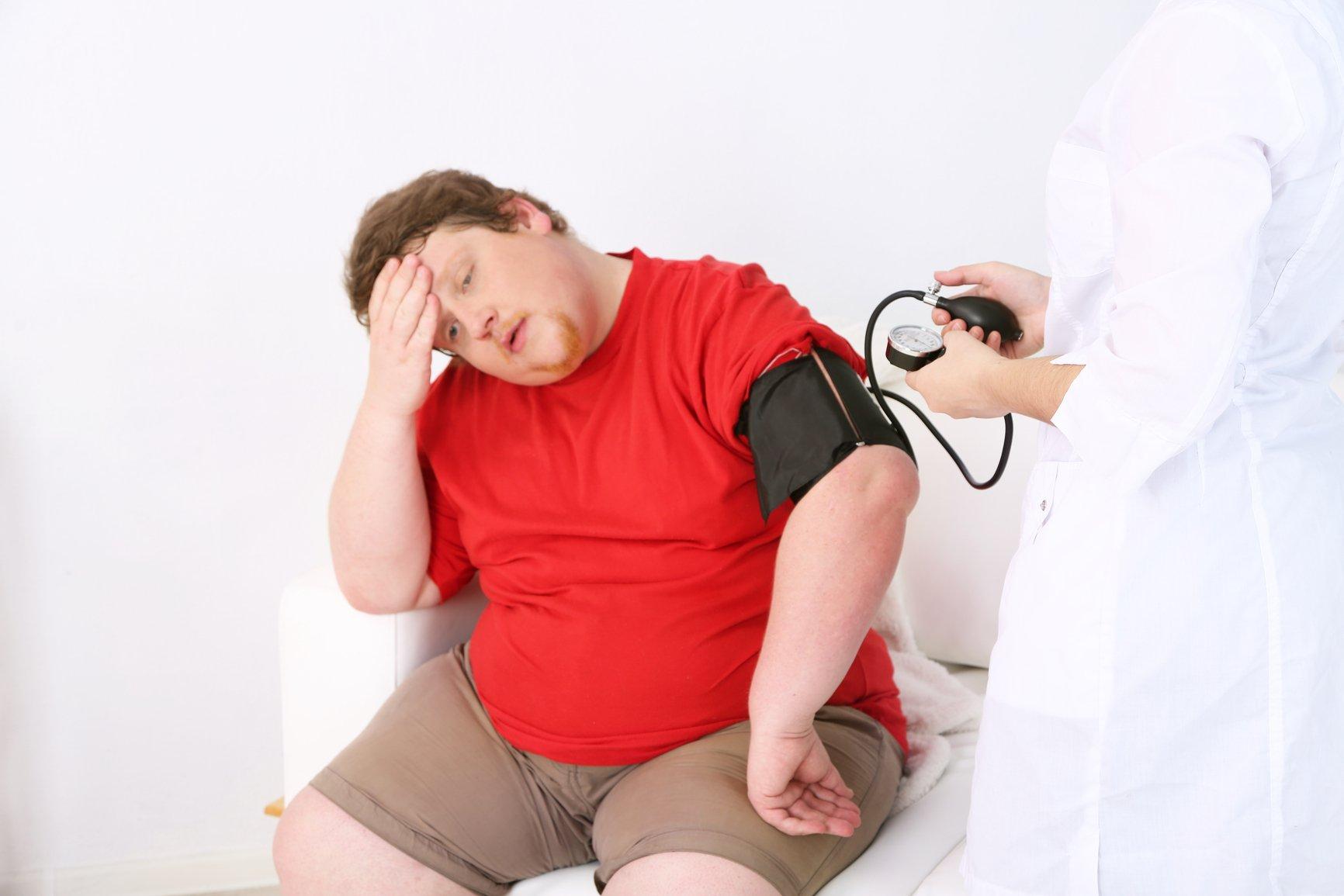 лишний вес и одышка