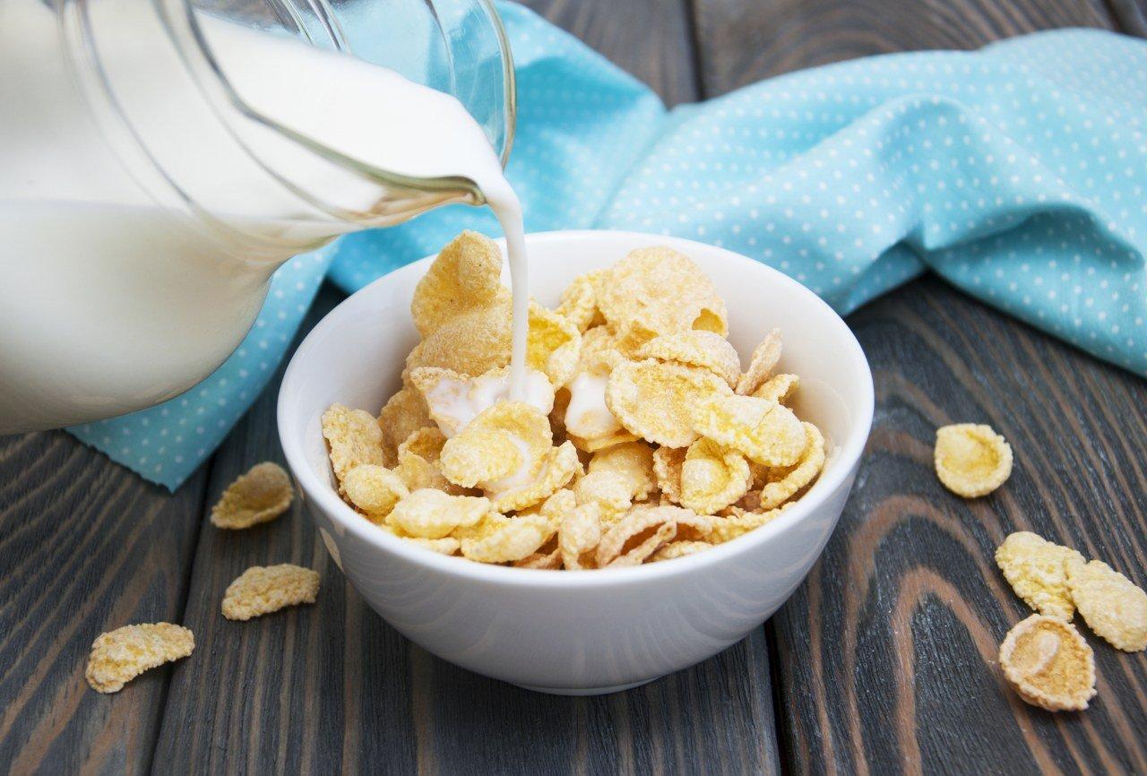 Кукурузные хлопья во время диеты