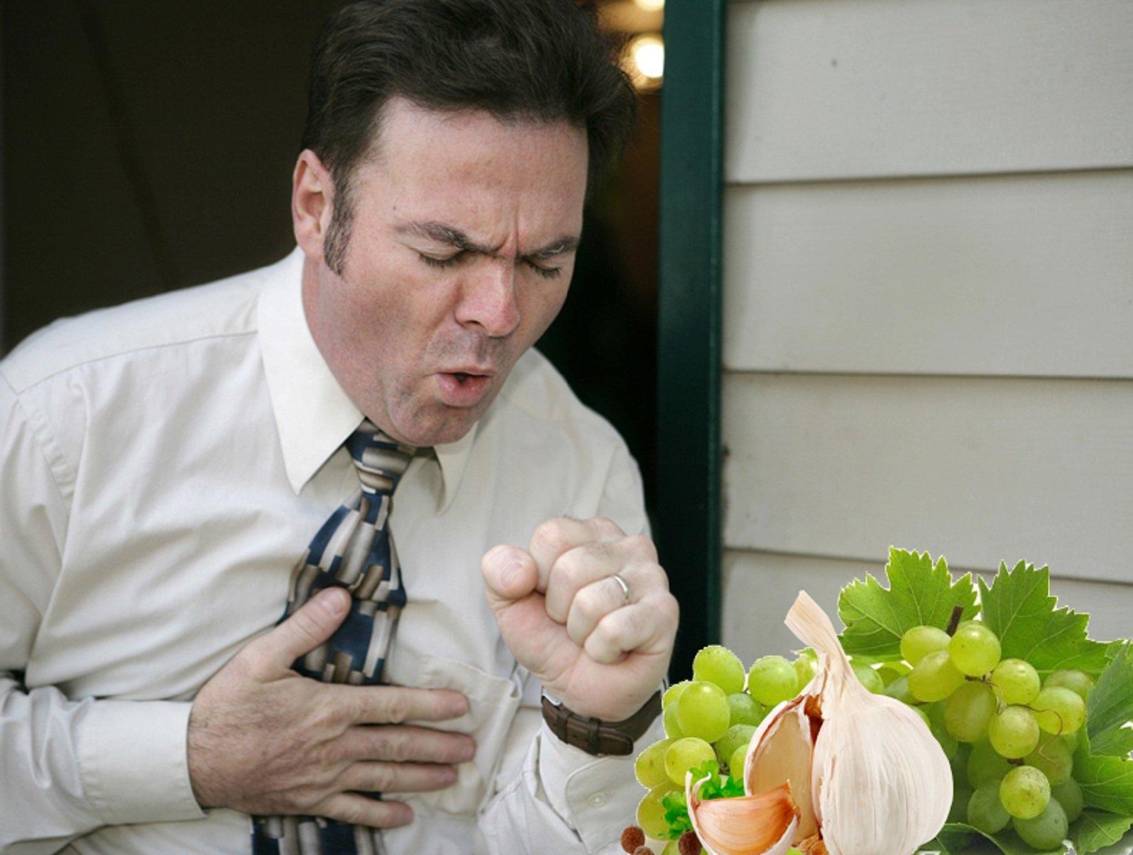 Виноград и чеснок чтоб дышать нормально мог: Ягода и овощ помогут при астме - Версия.Инфо