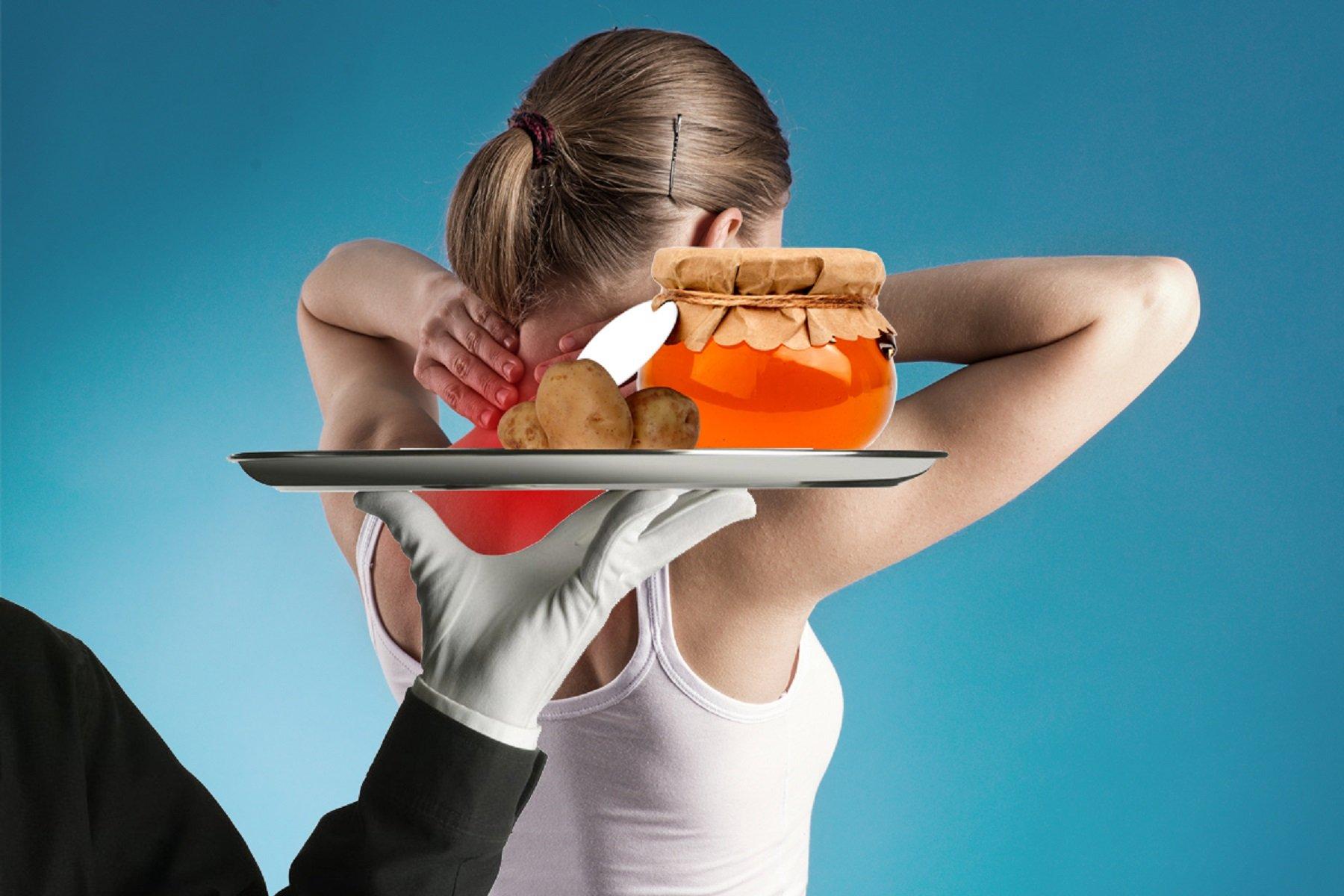 компресс из картошки и меда при остеохондрозе моему мнению