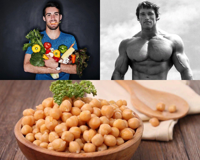 Вегетарианская диета при наборе массы