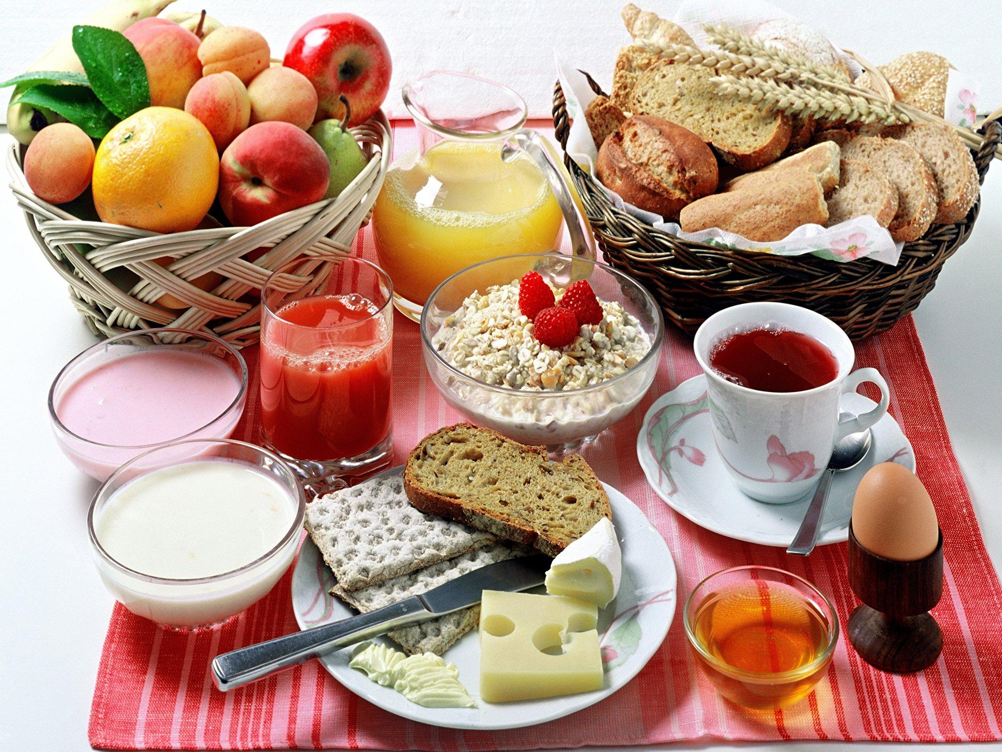 Здоровые завтраки диета