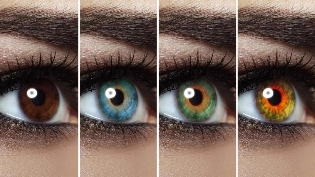 как можно изменить цвет глаз на фото важный агротехнический
