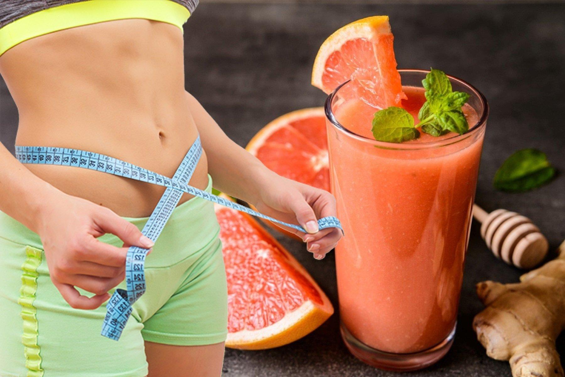 Грейпфрут Похудения Рецепты. Смузи из грейпфрута для похудения: рецепты