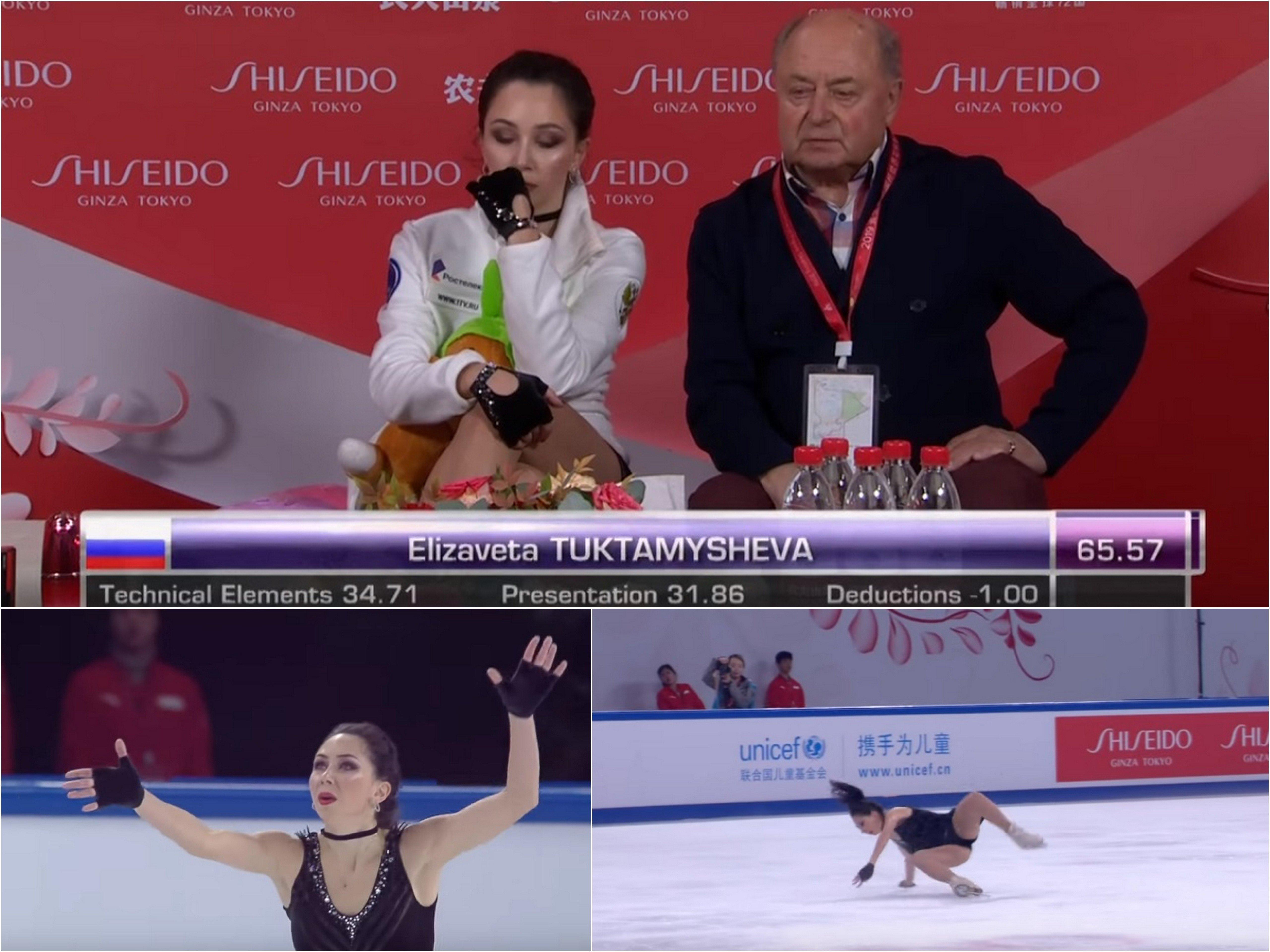 Фигуристка Щербакова выиграла короткую программу Гран-при Китая сличным рекордом