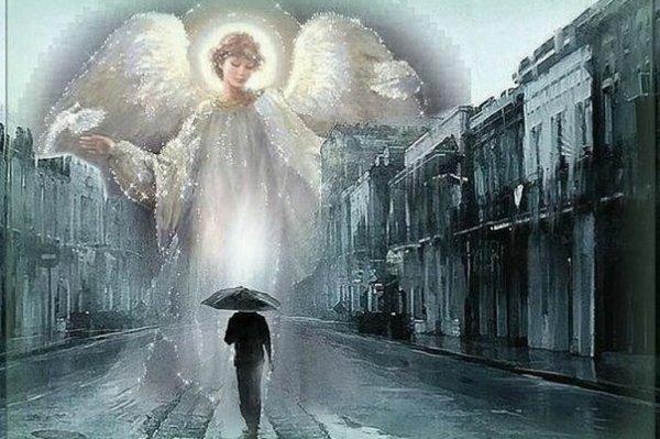 есть, уставший ангел шел по белым облакам картинки высокава качество