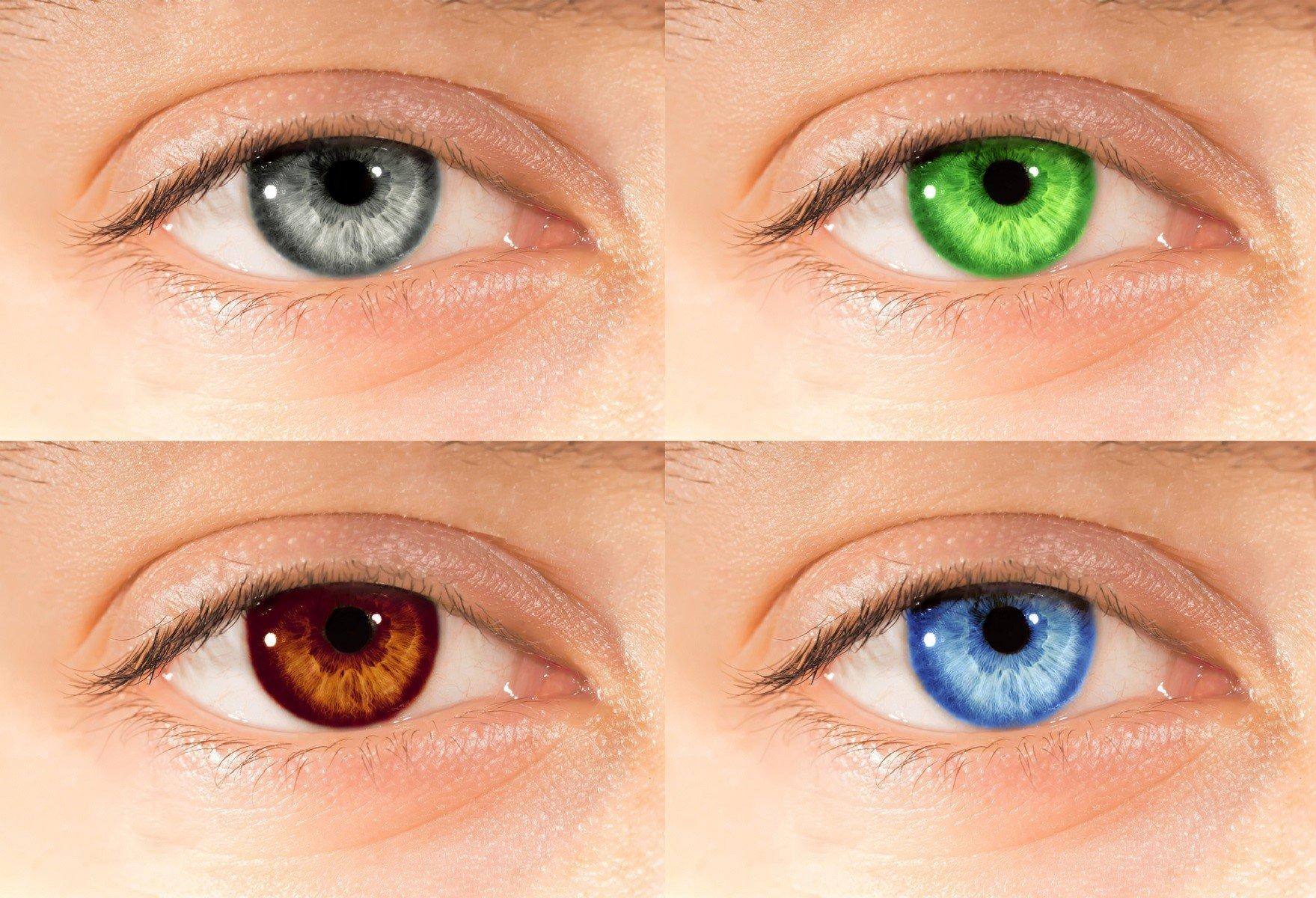 как можно изменить цвет глаз на фото знаете