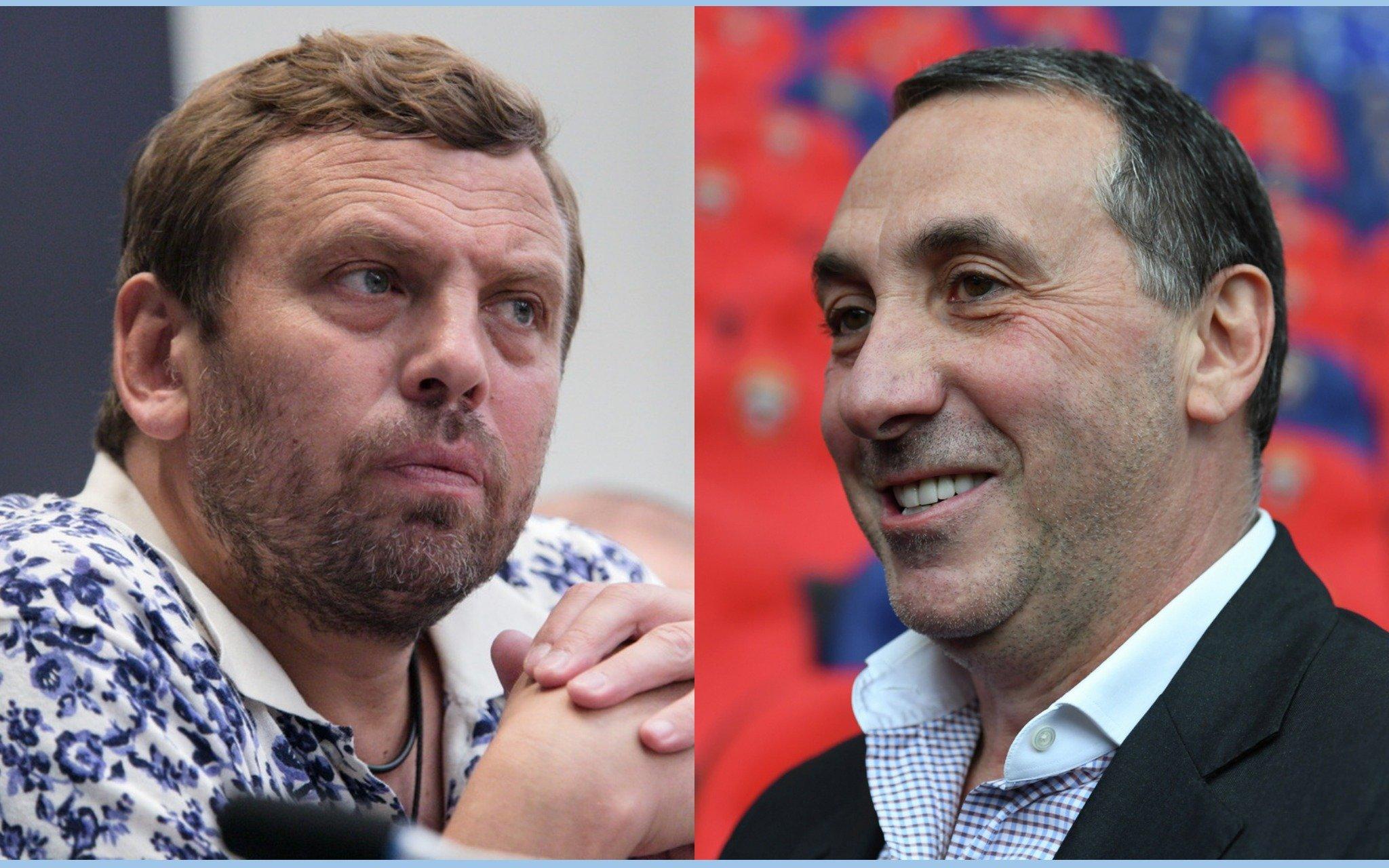 Александр Егоров и Евгений Гинер