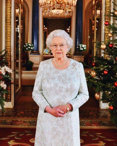 Рождественские поздравления королевы