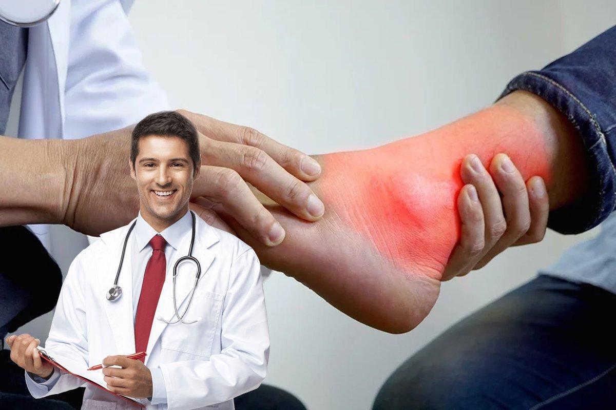 Боль в суставах ноги как лечить