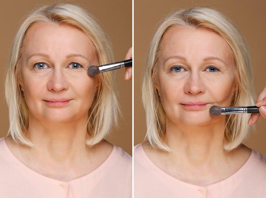 Модели для макияжа на работу работа для девушек с формами
