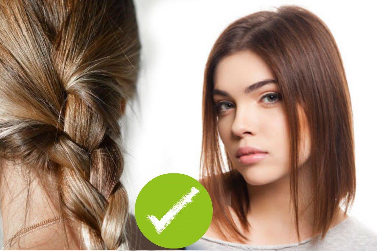 Каре на жидкие тонкие волосы